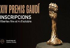 S'obre el període d'inscripcions dels XIV Premis Gaudí de l'Acadèmia del Cinema Català