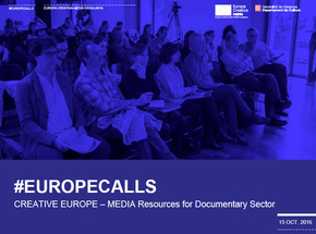 #EuropeCalls Europa Creativa MEDIA - MEDIA Resources for Documentary Sector