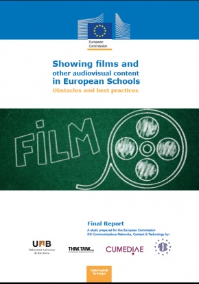 Showing films and other audiovisual content in European Schools Obstacles and best practices