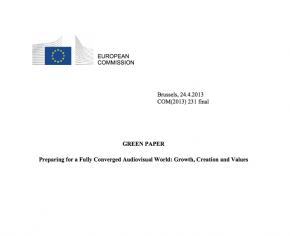 Llibre verd per a un món de convergència audiovisual: creixement, creació i valors