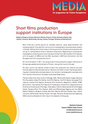 Suport europeu als curtmetratges