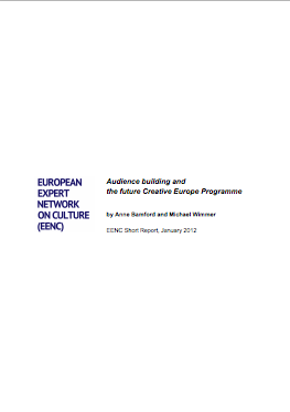 Audience building and  the future Creative Europe Programme
