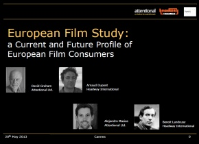European Film Study: a Current and Future Profile of European Film Consumers