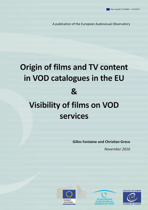 Informe OEA: Origin of films and TV content in VOD catalogues in the EU & Visibility of films on VOD services (Anglès)