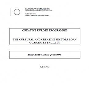 FAQ Instrument de garantia financera dels sectors culturals i creatius
