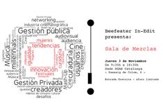 Europa Creativa Desk – MEDIA Catalunya col·labora amb l'activitat Sala de Mescles del Beefeater In-Edit